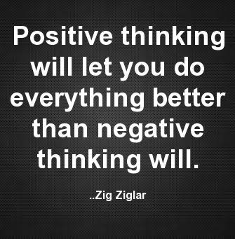 Negative Thinking and Emotions