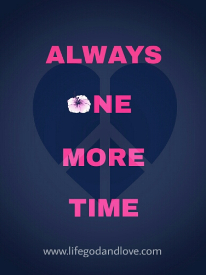 New Series 2016: Always One More Time