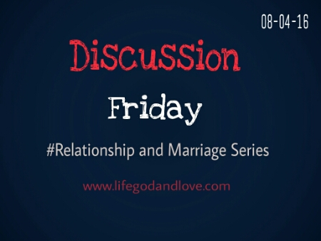 Discussion Friday: When Is It Right To Divorce?