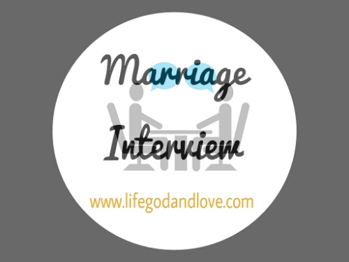 """Marriage Interview #1 """"Marriage is a Black Market"""""""