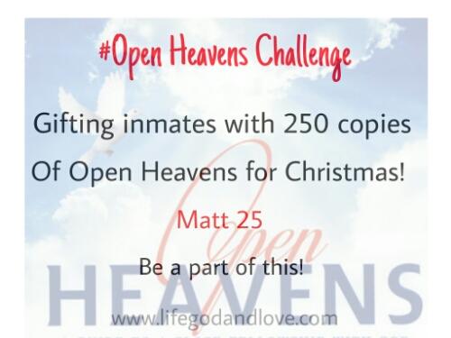 Open Heavens Challenge