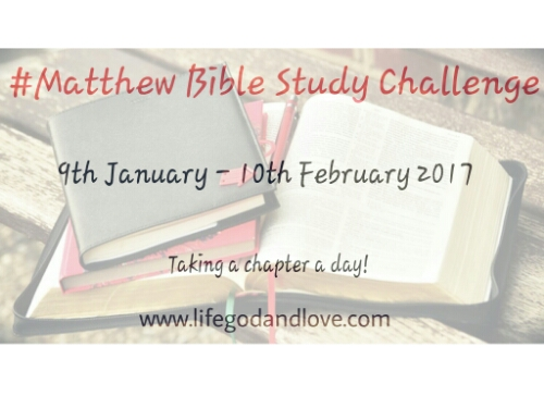 Matthew Bible Study Challenge
